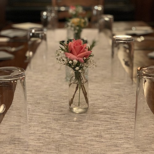 Fine dining at Manor Farm Hoggeston
